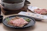 Gostaria de madeira de melamina chapa redonda Placa Sushi prato jantar (NK13811-09)