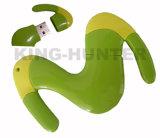 선전용 PVC는 디자인 OEM 로고 USB 섬광 드라이브를 주문을 받아서 만들었다
