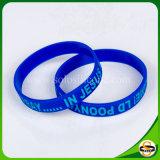 Kundenspezifisches Firmenzeichen gedruckter bunter SilikonWristband für Frauen