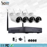 Wdmの機密保護のWiFiのカメラシステム4chs WiFi NVRキットIPのカメラ