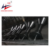 Tubulação de aço do transporte para entregar material