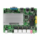 PC do LAN de Qotom 4 mini com computador industrial do PC do núcleo I3-4005u Fanless do processador o mini