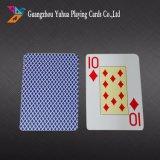 Kundenspezifisches Kasino-Plastikspielkarten mit preiswertem Preis