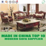 Мебель комнаты роскошной американской Tufted итальянской кожаный софы Chesterfield живущий