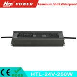 24V 10A 새로운 방수 LED 전력 공급 세륨 RoHS Htl 시리즈