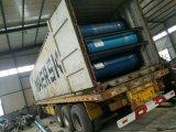 Ausbaggernde Gummischlauchleitung