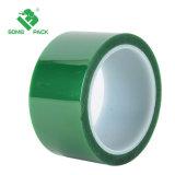 Mascota de color verde transparente cinta adhesiva de alta temperatura