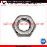 La norme ISO 4035 DIN 439 Hex hexagonale en acier galvanisé l'écrou mince