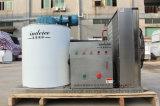 Flocken-Eis-Gerät des Meerwasser-1000kgs automatisches/Systems-Maschine auf Land