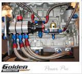 Golden Bloom réglable double billette de journaux de carburant