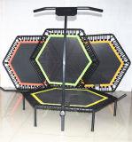 Trampoline кровати оборудования спортов Customerized скача с штангой t