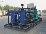 Cambista de calor da placa para refrigeradores de petróleo