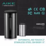 AK1205 Accessoires de toilette Capteur d'acier inoxydable professionnel Distributeur automatique de savon à main liquide mural