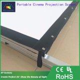 Удобный складной открытый/крытый портативный проекционный экран /Fast складной экран проектора с Транспортировочный кейс