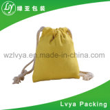 Wholesale Colorful Top Quality Echo Small Shopping Canvas Bag Cotton Drawstring Bag