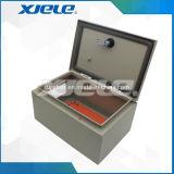 Caixa de distribuição elétrica do painel de controle
