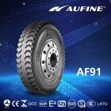 트럭 (13r22.5, 315/80r22.5 및 385/65r22.5)를 위한 Aufine 강철 광선 타이어