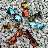 On-line de fábrica por grosso Itália Design Réplica Espelho polarizado óculos de sol vermelho