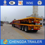 12 Container Lock 40FT Flatbed Cargo Semi Trailer