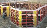 Стальной каркас здания опалубки с фанерой для строительства
