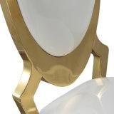 金カラーのステンレス鋼の椅子を食事する低価格の結婚式