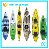 Canoa plástica de la pesca del relais del océano plástico al por mayor del kajak (01)