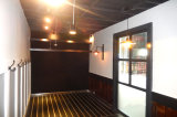 Casa ensanchable del envase de la nueva de Australia del envase de la casa mini cafetería prefabricada movible ensanchable modular del envase