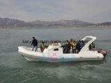 Шлюпка нервюры кабины рыболовства нервюры Liya 27FT Китай раздувная