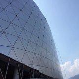 Panneau en aluminium personnalisé pour la façade de gymnase/la décoration mur rideau/revêtement