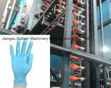 Guanto a gettare del polietilene del macchinario medico dei guanti del lattice che fa macchina