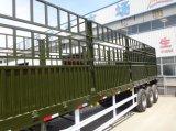 세 배 차축 60 톤 말뚝 또는 담 트럭 세미트레일러