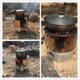 Multi stufa Burning di legno dell'acciaio inossidabile dei combustibili