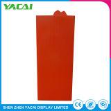 Piso de Seguridad del papel soporte de venta de cosméticos Rack estanterías con pantallas