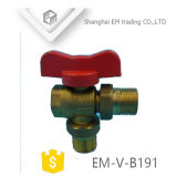 Латунной резьбовой конец баланс клапана (EM-V-B191)