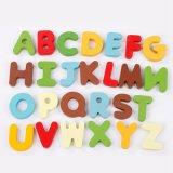 Les enfants en bois jouet éducatif Cartoon Animal jeu de puzzle alphabet