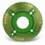 PWB Multilayer com máscara da solda de Brown - placa de circuito impresso rígida