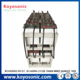 ionenBatterij van 5 jaar van Li van de Opslag van de Batterij van de Batterij 2V 600ah van de Garantie de Stationaire Zonne