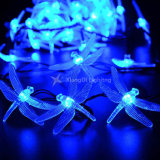 Dragonfly Solar Powered Decoration Christmas Colorful String Light