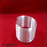 Fusível de alta espiral opaco o tubo de quartzo com bobinas de 5