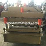 Baumaterial-Aluminiumdach glasierte die Fliese-Rolle, die Maschine bildet