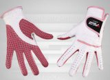 As mulheres Lambskin Wear-Resistant Non-Slip luvas de golfe