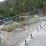 외부 발코니 알루미늄 유리제 난간 최신 판매