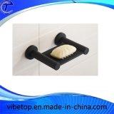 Aço inoxidável preto 304 sabonetes prato SD-V005