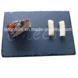 Натуральный камень Slate ужин пластину сердце посуда доски