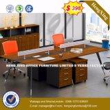 Sitio de trabajo de madera de los muebles de oficinas del vector moderno de la oficina 2016 (HX-8N1112)