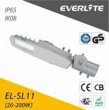 TUV GS CB approuvé de la batterie de haute qualité et le panneau IP65 5 ans de garantie Rue lumière LED solaire 60W