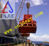 Gancho agarrador electrohidráulico de la cubierta para la grúa de la nave