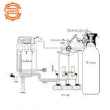 二酸化炭素ビール調整装置圧力Kegerator頑丈な機能(0から60 PSI-0から3000のタンク圧力)