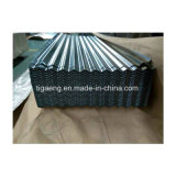 아연 판매를 위한 입히는 벽면 주름을 잡은 직류 전기를 통한 지붕 장