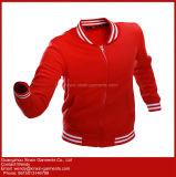 Il nuovo colore rosso del cotone di alta qualità di disegno ha sudato per gli uomini e le donne (T245)